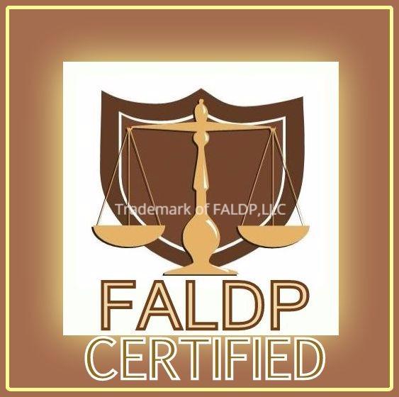 FALDP Certified logo