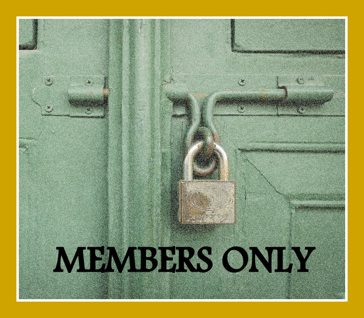 Members Only pages