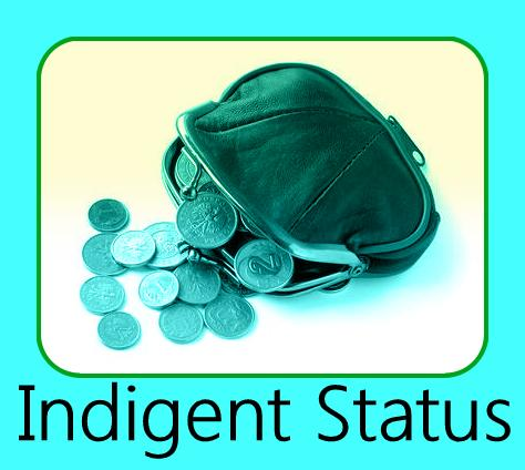 Application for Determination of Civil Indigent Status