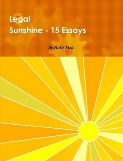 Legal Sunshine, 15 Essays Book
