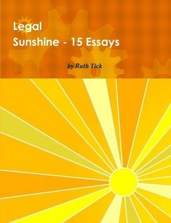 Legal Sunshine, 15 Essays Book