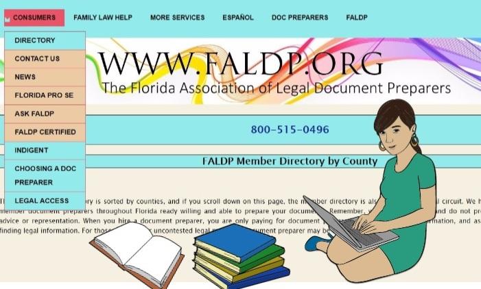 FALDP member directory graphic